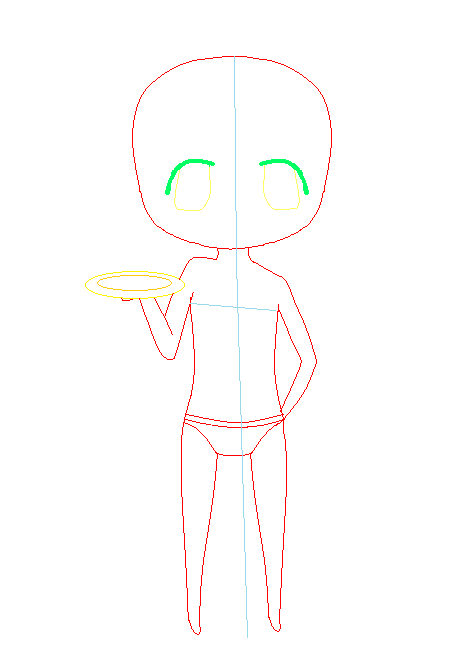 Waiter Body Base by oO0RyuuHeartsYou0Oo