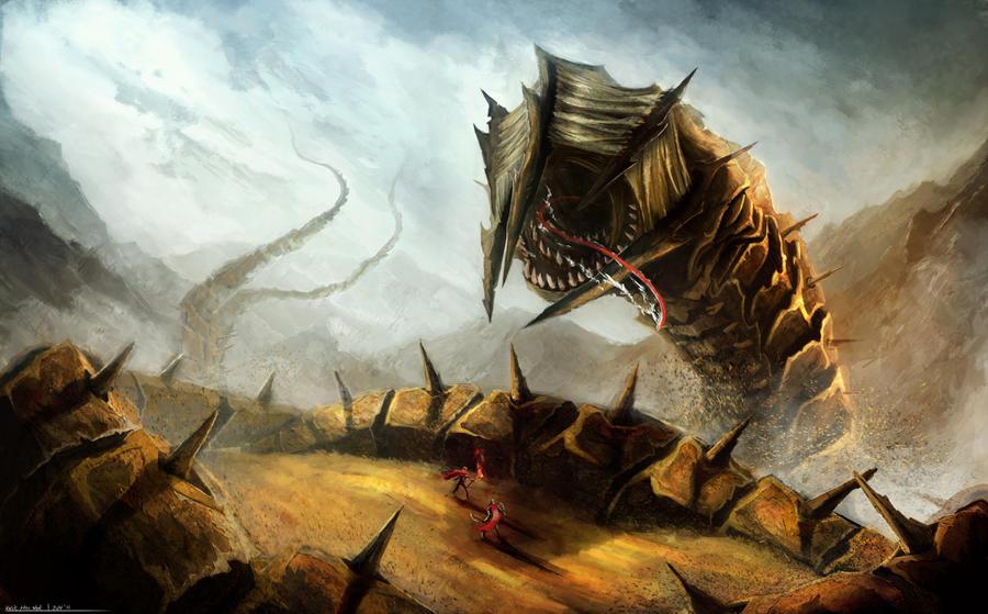 The Sandworm Boss Suggestions Minecraft Java Edition