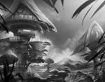 Mushroom Town Concept