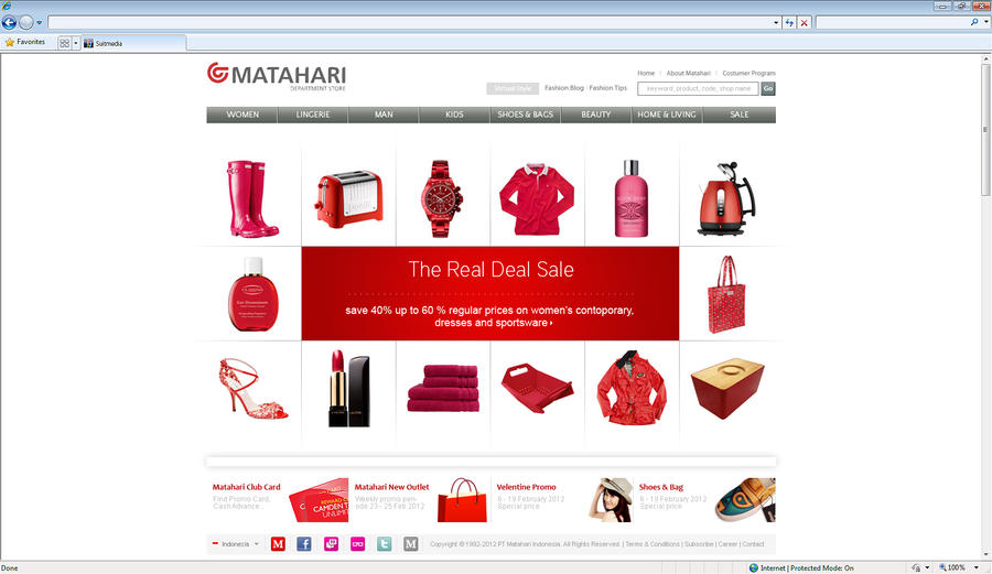 Matahari department store by fly2sunt on deviantart for Online art stores us