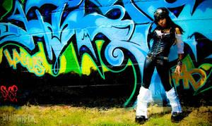 graffiti by brainwreck