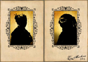 Steampunk Silhouettes by brainwreck