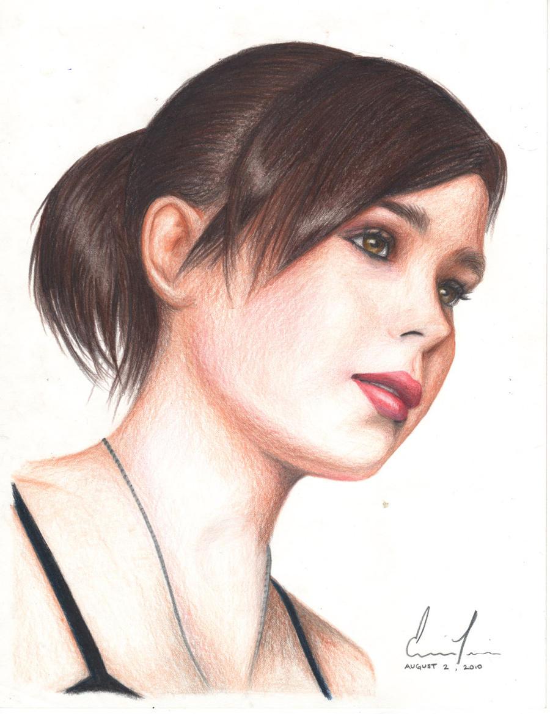 Ellen Page by inoceze7