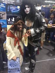 Zombie Jesus 2013 Paul Stanley costume by Doctor-Talon
