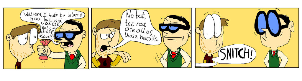 TWOG Comic: Whoever ate those biscuits by WlanProductions