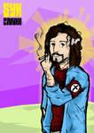 Syk Panikk - Jesus smoking