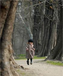 Flying  girl by fotouczniak