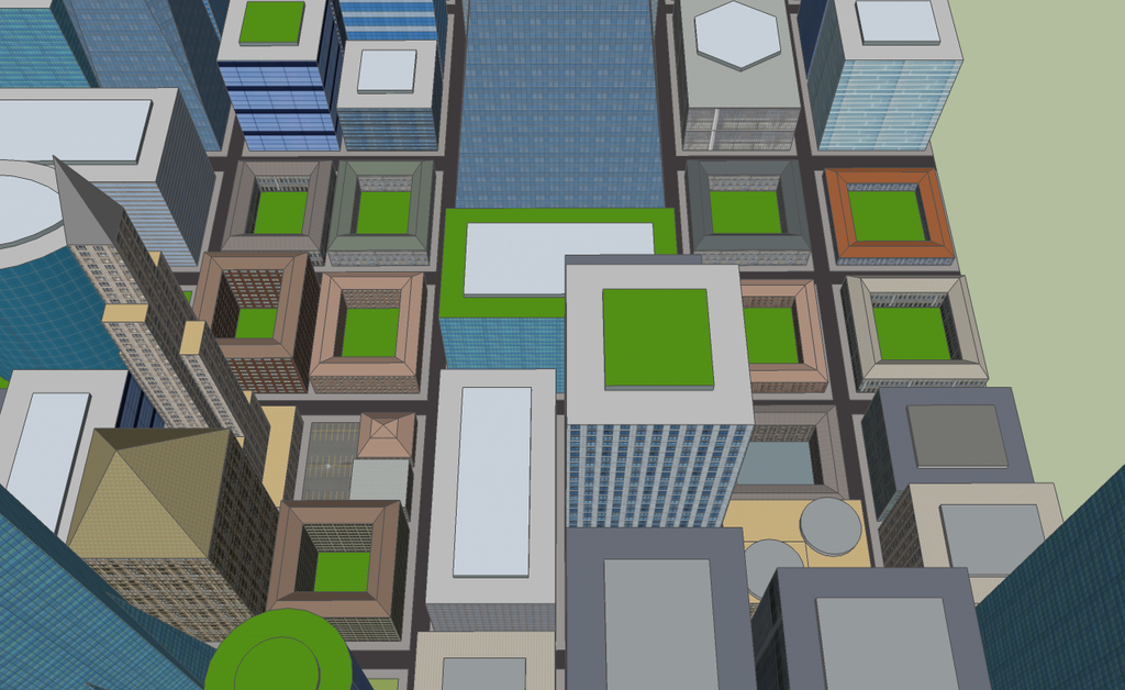 Older buildings by kingdragon01