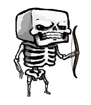 Minecraft Skeleton by SirCaterpie on DeviantArt  Minecraft Cute Skeleton