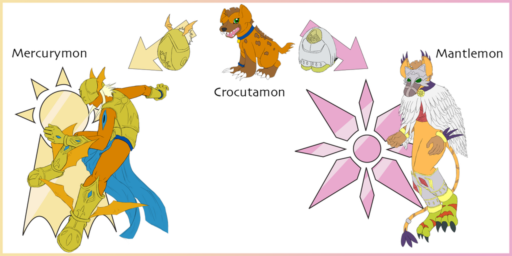 Gallery images and information: Patamon Evolutions