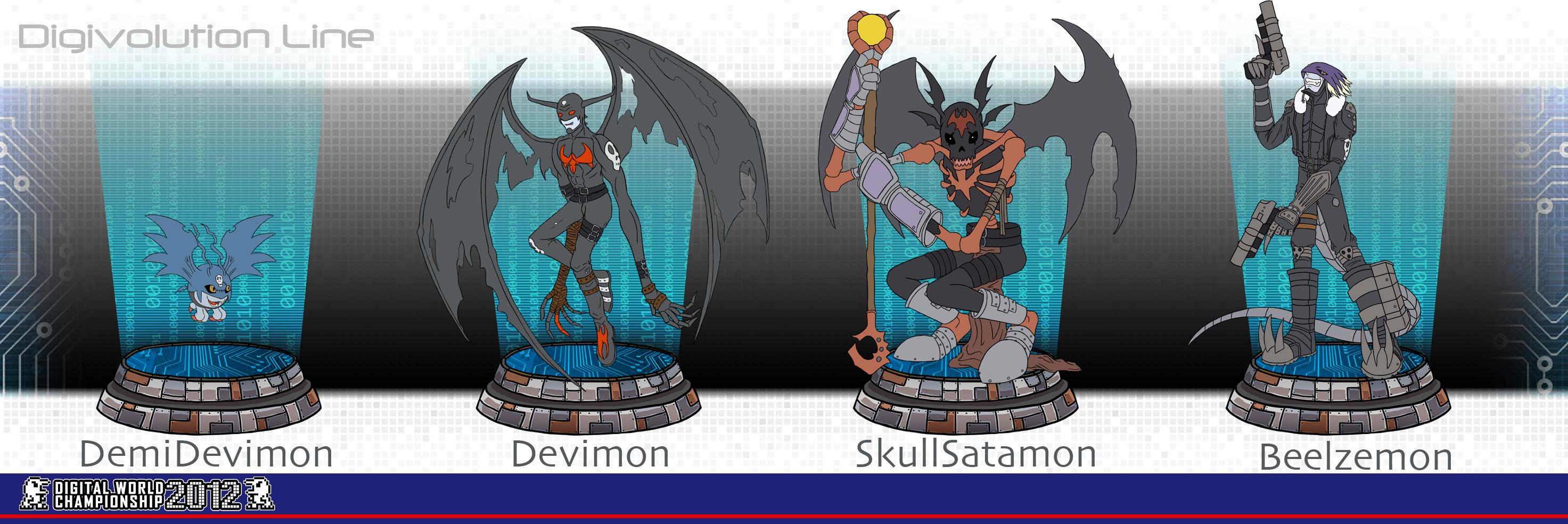 Demidevimon Evolution Line DWC 2012: Demidevimon ...