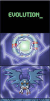 Demidevimon Evolution Sequence