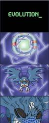 Demidevimon Evolution Sequence by VelkynKarma