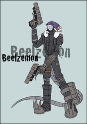 DWC 2012: Beelzemon by VelkynKarma