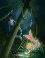 HunnyMonsta Commission: Treasure Hunt by VelkynKarma