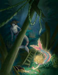 HunnyMonsta Commission: Treasure Hunt