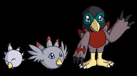 Digimon OC: Robinmon