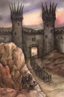 the gates of Mordor by pranDIV