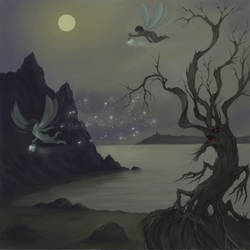 Night pixie by pranDIV