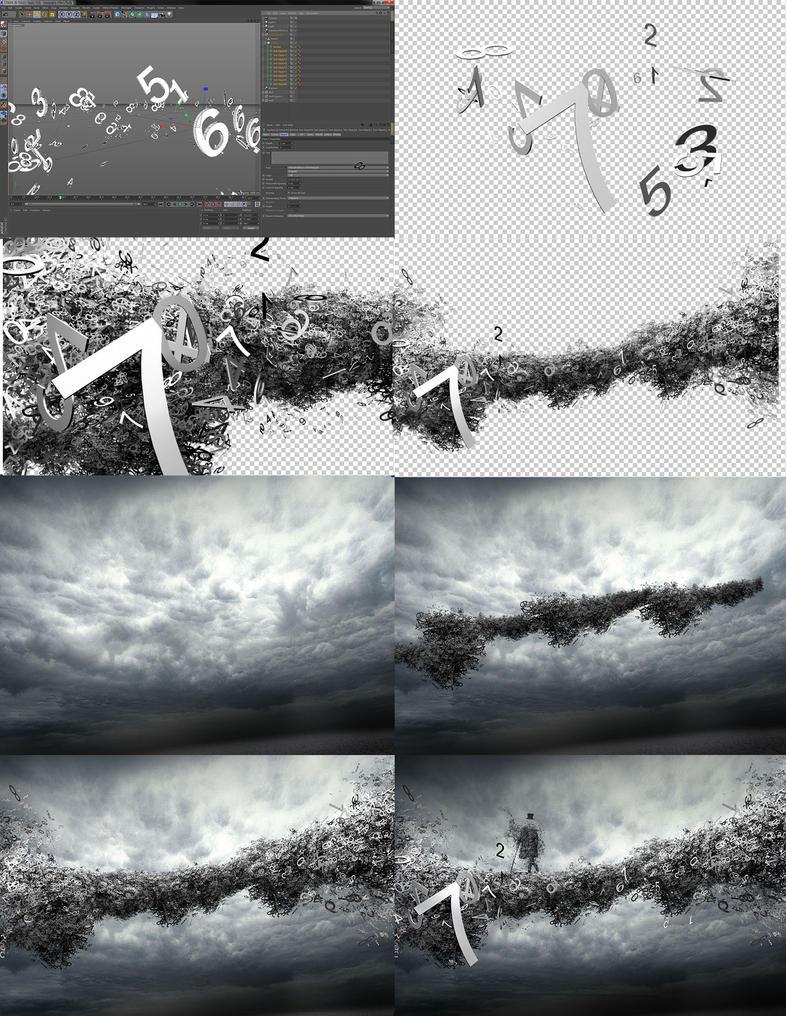 Number man - make of by tariqdesign