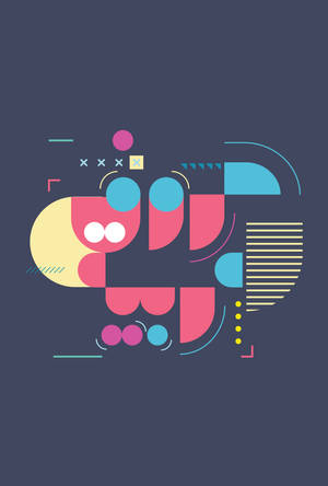geometric minilist arabic alphabet #2 by tariqdesign