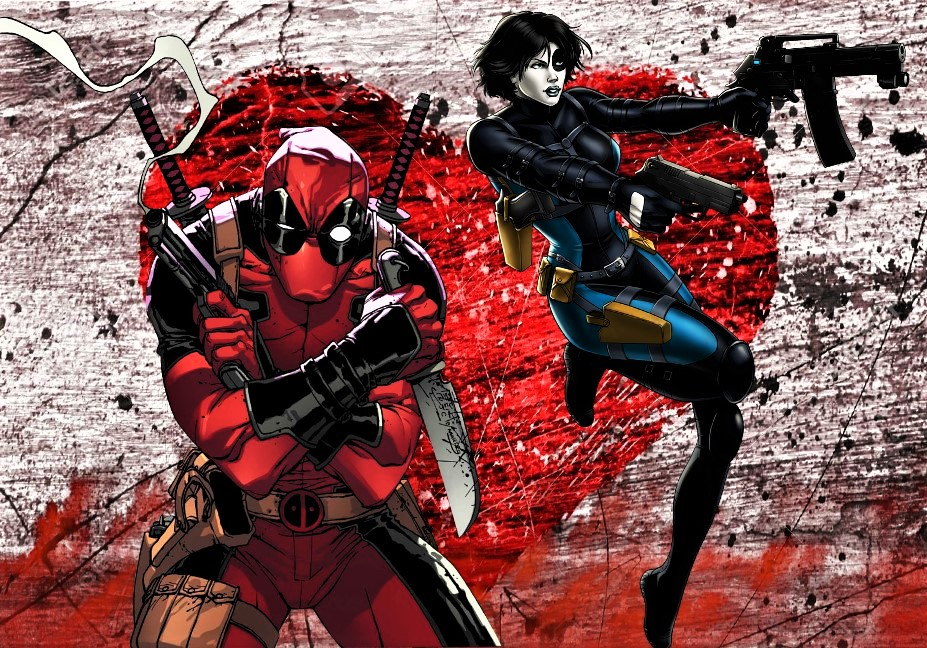 Deadpool x Domino by TristanHartup