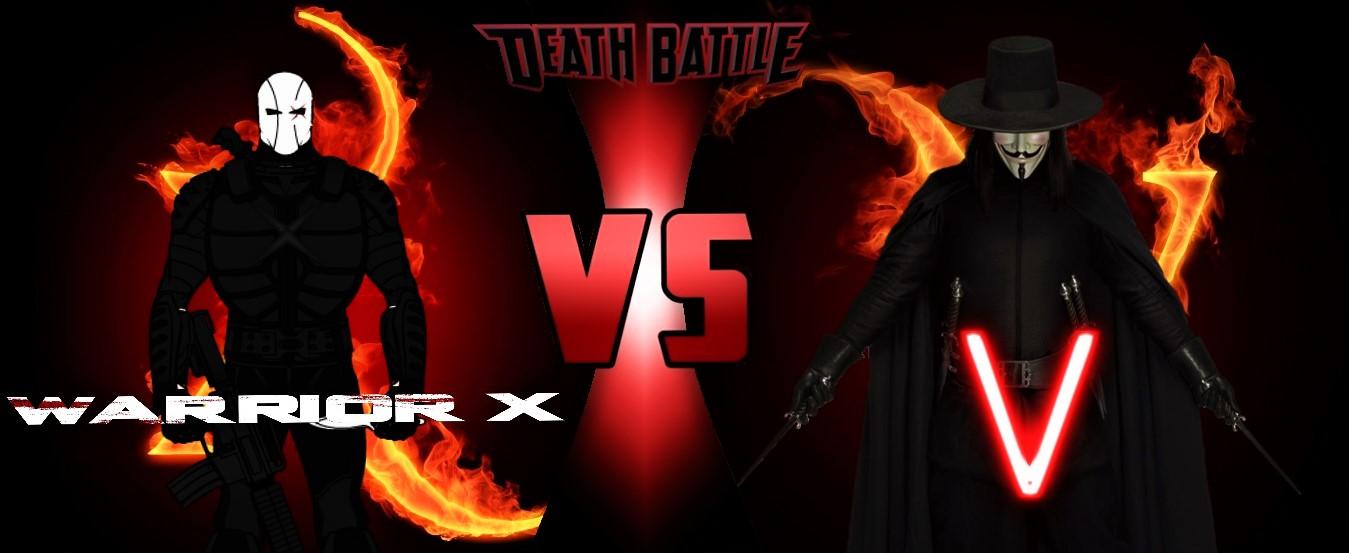 Death Battle - Warrior X vs. V by TristanHartup