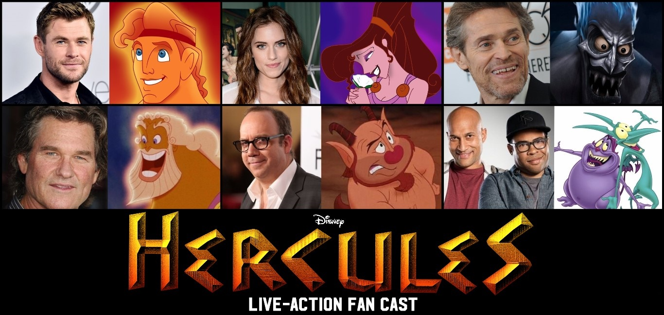 Disney S Hercules Live Action Fan Cast By Tristanhartup On