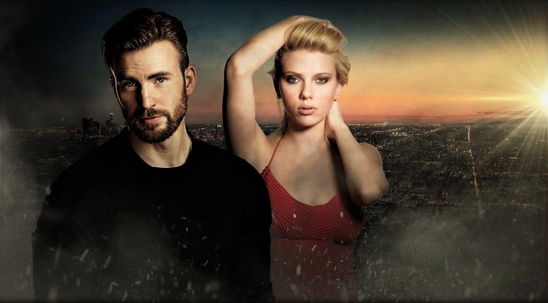 Chris Evans X Scarlett Johansson By Tristanhartup On Deviantart