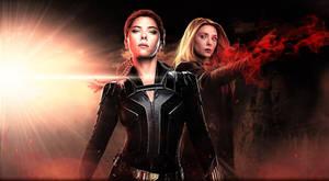 Black Widow x Scarlet Witch