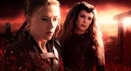 Deep Red (Scarlet Widow) by TristanHartup