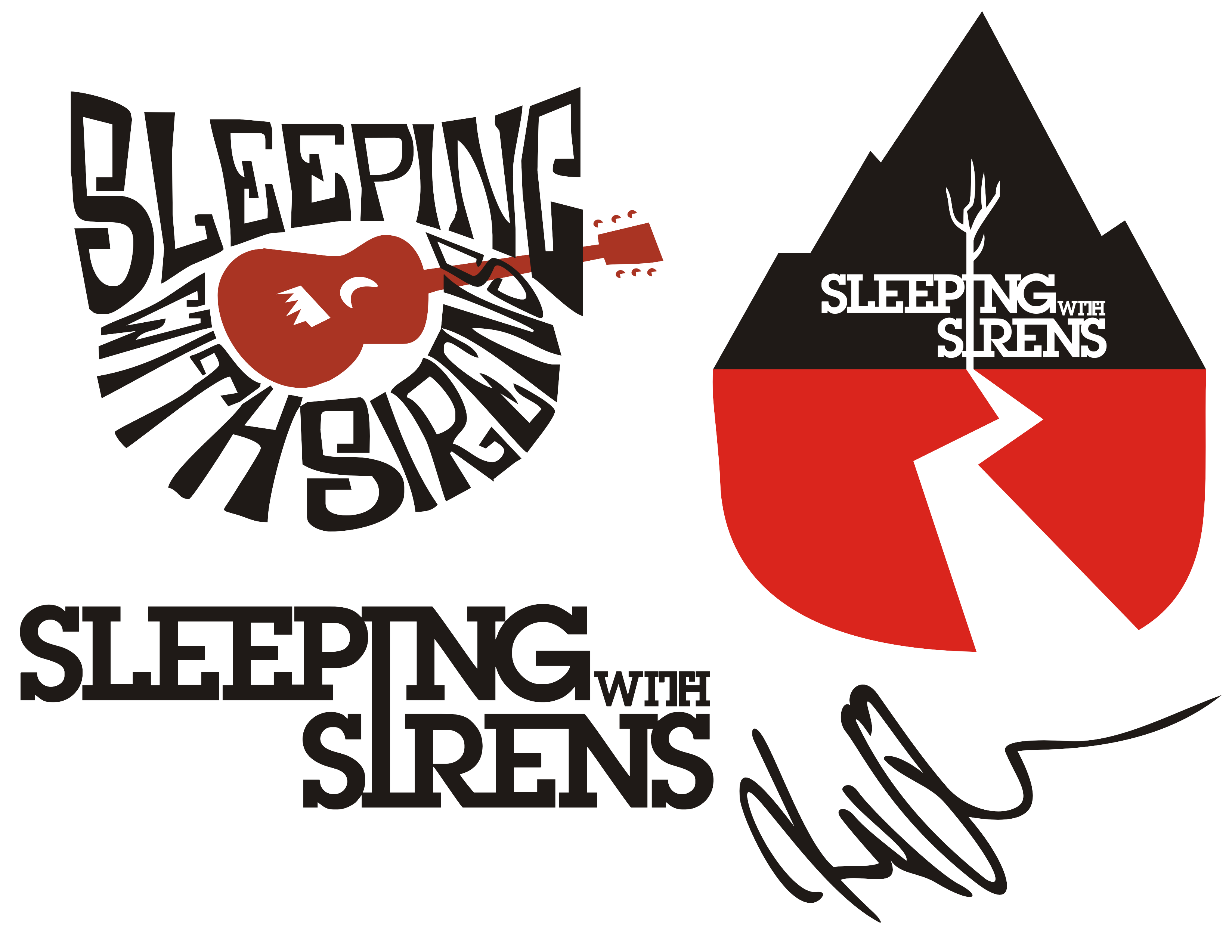 Sleeping With Sirens Drawings Tumblr