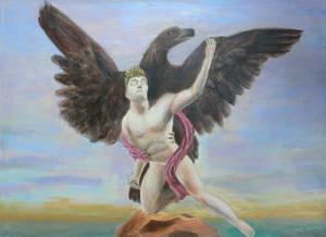 Zeus and Ganymede WIP