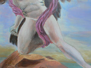 Zeus and Ganymede detail 2 WIP