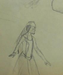 Sketch Georgian Woman 1