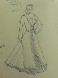 Sketch Georgian Woman 2