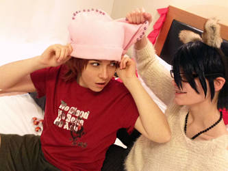 Fushimi Saruhiko x Yata Misaki - SaruMi cosplay by the-crimson-world
