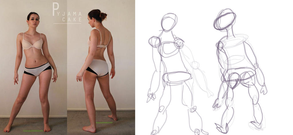 Character Design: Gesture Drawing by traceyla