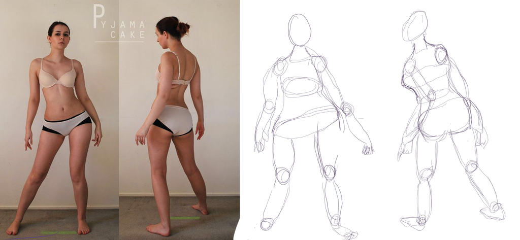 Character Design: BUILDING THE FIGURE by traceyla