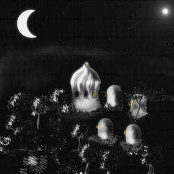 moonlight on domes by MariaRosariaC
