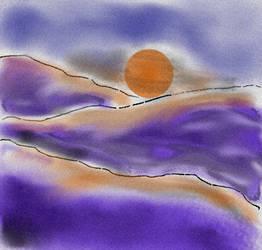 violet twilight by MariaRosariaC