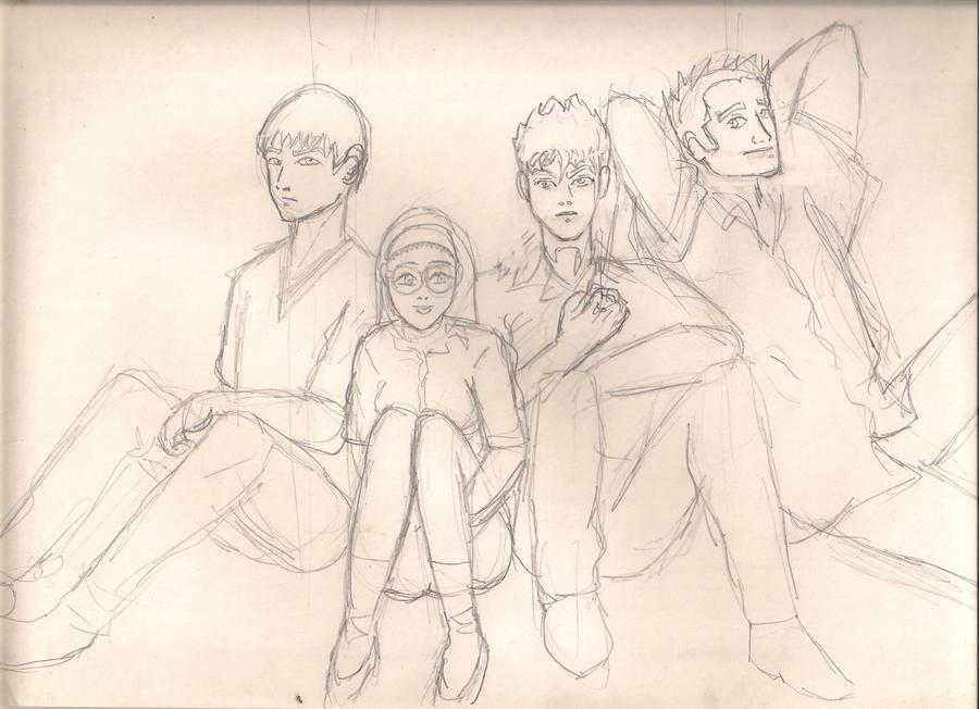 Dibujos de  mi adolescencia!!! by baiker
