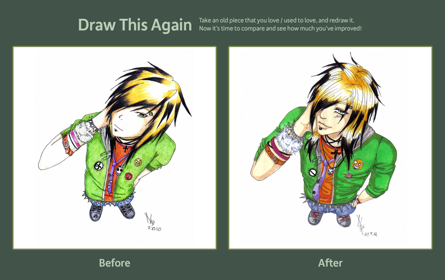 Improvement-Draw This Again Contest by XxNatiUchihaxX