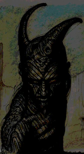Statue of Sheogorath by Azmodan01
