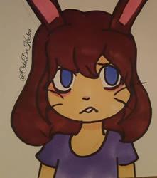 Bunny thing (original) by CakeDaKuchen