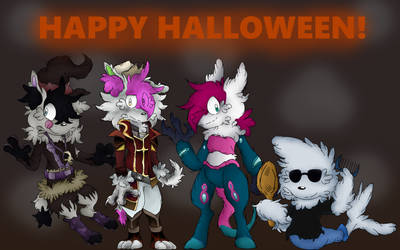 Happy Halloween to everyone!!! by fanaticalpokeblack