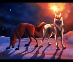 Loomi Christmas Collab by WinterCrow03
