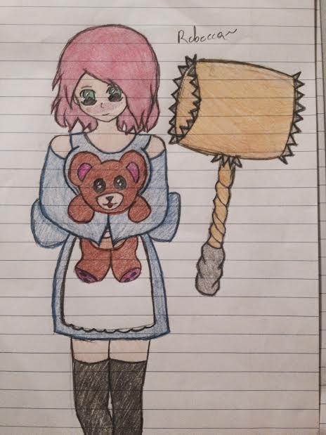 my OCC character Rebecca! by mariav13