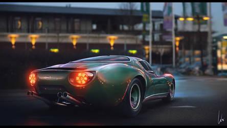 Vintage Aston Martin V12 Zagato by itachi1uchiha