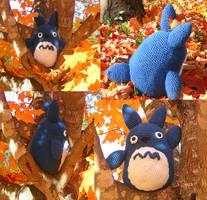 Chuu Totoro Crochet by Crowchet
